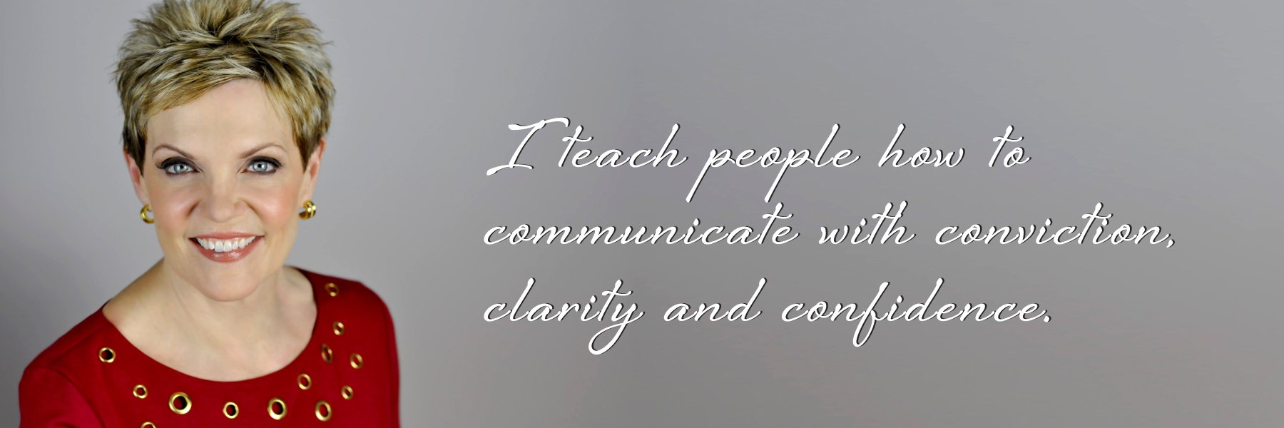I teach leaders how to communicate with  clarity and power so they can own the room.